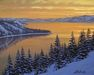 Alexei Butirskiy Limited Edition Giclee on Canvas Winter Colors