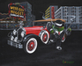 Godard Martini Art Limited Edition Giclee on Canvas Wise Guy (17.5 x 22)
