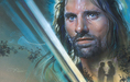 Limited Edition Giclee on Canvas A Fierce Legacy - Aragorn