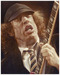Kruger Fine Art Limited Edition on Illustration Board Angus Young- Angus