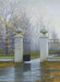 Alexei Butirskiy Limited Edition Giclee on Canvas Autumn Gate (AP)