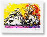 Tom Everhart Limited Edition Lithograph Blow Dry