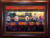 Michael Flohr Artist Limited Edition Giclee on Canvas Bon Appetit