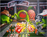 Godard Martini Art Limited Edition Giclee on Canvas Shooter: Burning the Felt (GP)