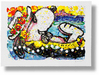 Tom Everhart Limited Edition Lithograph Chillin (AP)