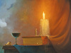Victor Bregeda Limited Edition Giclee on Canvas Communion (Small)