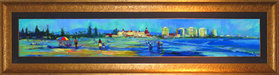 Flohr Art Limited Edition Giclee on Canvas Coronado Beach Walks