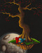 Fabio Napoleoni Limited Edition Giclee on Canvas Courier Of Love (SN)