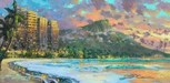 James Coleman Limited Edition Giclee on Canvas Diamond Head Dreams (SN) (10 x 20)