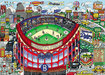 Charles Fazzino 3D Art Limited Edition 3-Dimensional Serigraph Ebbets Field Of Dreams (DX)