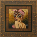 Todd White Original Oil on Canvas Emotional Armor (Framed)