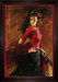 Andrew Art Limited Edition Giclee on Canvas Fan Dancer
