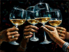 Fabian Perez Limited Edition Giclee on Canvas For A Better Life VII: Ladies Hands