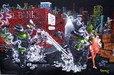 Godard Martini Art Limited Edition Giclee on Canvas Gangster Chopper (CS)