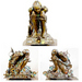 Nano Art Bronze Sculpture Gearman