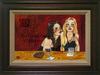 Todd White Limited Edition Giclee on Canvas Girly Drinks