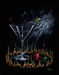 Godard Martini Art Limited Edition Giclee on Canvas Dancing With The Devil (28 x 35)