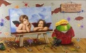 Michael Godard Limited Edition Fine Art Limited Edition Giclee on Canvas Raphael (ME)