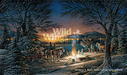 Terry Redlin Limited Edition Print on Paper Heartland Lights