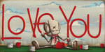 Fabio Napoleoni Limited Edition Giclee on Canvas I Want the World to Know (AP) Canvas