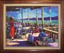 Flohr Art Limited Edition Giclee on Canvas L'Auberge