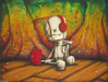 Fabio Napoleoni Limited Edition Giclee on Paper Listen Carefully (SN)