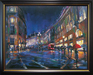 City Impressionism Originals and Prints Limited Edition Giclee on Canvas London Rain (AP)