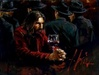 Fabian Perez Limited Edition Giclee on Canvas Man at the Bar III