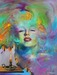 Jim Warren Fine Art Limited Edition Giclee on Canvas Marilyn Monroe - A Painted lady