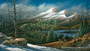 Terry Redlin Limited Edition Print on Paper Master of the Valley AP