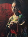 Fabian Perez Limited Edition Giclee on Canvas Michiko
