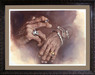 Kruger Fine Art Limited Edition Print on Paper Mojo Hands