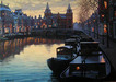 Alexei Butirskiy Limited Edition Giclee on Canvas Morning Colors