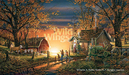 Terry Redlin Limited Edition Print on Paper Morning Surprise AP