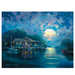James Coleman Limited Edition Giclee on Canvas No Wake Zone