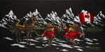 Godard Martini Art Limited Edition Giclee on Canvas O' Canada (AP)