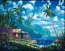 James Coleman Limited Edition Giclee on Canvas Paradise Memories