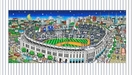 Charles Fazzino 3D Art Limited Edition 3-Dimensional Serigraph Pinstripe Pride (NY Yankees)