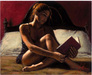 Fabian Perez Limited Edition Giclee on Canvas Princess Diaries IV