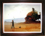 Victor Bregeda Limited Edition Giclee on Canvas Product of His Environment