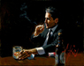 Fabian Perez Limited Edition Giclee on Canvas Proud to be a Man III