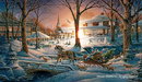 Terry Redlin Limited Edition Print Racing Home AP