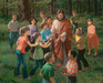 James Seward Limited Edition Giclee on Canvas Rejoice In The Lord (AP)