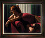 Fabian Perez Limited Edition Giclee on Canvas Rojo Sillon III