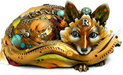 Nano Art Bronze Sculpture Roxy - The Fox (AP)