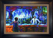 Michael Flohr Artist Limited Edition Giclee on Canvas Shaken Not Stirred