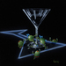 Godard Martini Art Limited Edition Giclee on Canvas Dirty Martini 4 (Silly Wabbit)