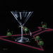 Godard Martini Art Limited Edition Giclee on Canvas Dirty Martini 3 (Goin' To School)