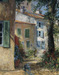 James Coleman Limited Edition Giclee on Canvas Blue Shutters