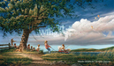 Terry Redlin Limited Edition Print on Paper Spring Fever
